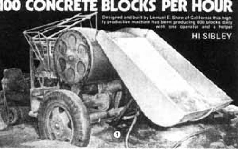 Brick Maker Machine Plans
